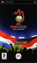 UEFA Euro 2008 PSP Front Cover