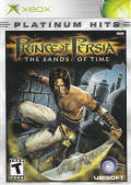 Prince of Persia: The Sands of Time Xbox Front Cover