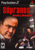 The Sopranos: Road to Respect PlayStation 2 Front Cover