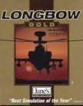 Jane's Combat Simulations: Longbow - Gold DOS Front Cover