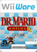 Dr. Mario Online Rx Wii Front Cover