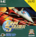 Final Soldier TurboGrafx-16 Front Cover