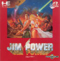 "Jim Power in ""Mutant Planet"" TurboGrafx CD Front Cover Manual - Front"