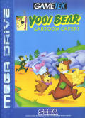 Adventures of Yogi Bear Genesis Front Cover