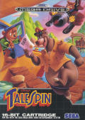Disney's TaleSpin Genesis Front Cover