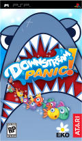 Downstream Panic! PSP Front Cover