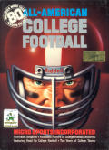 All-American College Football DOS Front Cover