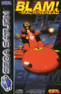 Blam! Machinehead SEGA Saturn Front Cover