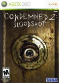 Condemned 2: Bloodshot Xbox 360 Front Cover
