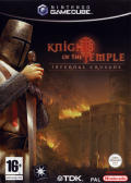 Knights of the Temple: Infernal Crusade GameCube Front Cover