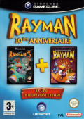 Rayman: 10th Anniversary GameCube Front Cover Outer Sleeve