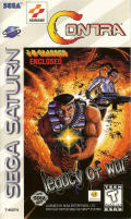 Contra: Legacy of War SEGA Saturn Front Cover
