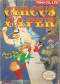 Circus Caper NES Front Cover