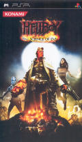 Hellboy: The Science of Evil PSP Front Cover