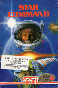 Star Command Atari ST Front Cover
