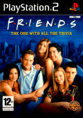 Friends: The One with All the Trivia PlayStation 2 Front Cover