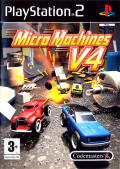 Micro Machines V4 PlayStation 2 Front Cover