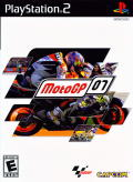 MotoGP 07 PlayStation 2 Front Cover