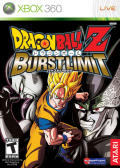 Dragon Ball Z: Burst Limit Xbox 360 Front Cover