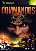 Commandos 2: Men of Courage Xbox Front Cover