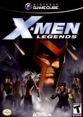 X-Men: Legends GameCube Front Cover