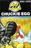 Chuckie Egg MSX Front Cover