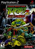 Teenage Mutant Ninja Turtles 2: Battle Nexus PlayStation 2 Front Cover