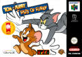 Tom and Jerry in Fists of Furry Nintendo 64 Front Cover