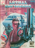 Lethal Enforcers SEGA CD Front Cover