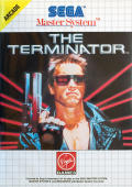 The Terminator SEGA Master System Front Cover
