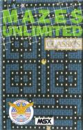 Mazes Unlimited MSX Front Cover