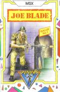 Joe Blade MSX Front Cover
