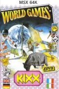 World Games MSX Front Cover