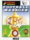Football Manager MSX Front Cover
