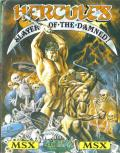 Hercules: Slayer of the Damned! MSX Front Cover