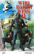 Who Dares Wins II MSX Front Cover