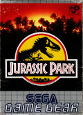Jurassic Park Game Gear Front Cover