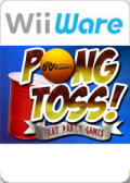Pong Toss: Frat Party Games Wii Front Cover