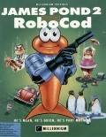 James Pond 2: Codename: RoboCod DOS Front Cover