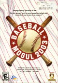 Baseball Mogul 2003 Windows Front Cover