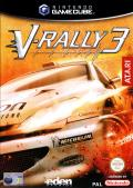 V-Rally 3 GameCube Front Cover