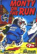 Monty on the Run ZX Spectrum Front Cover