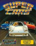 Supercars ZX Spectrum Front Cover