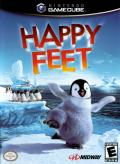 Happy Feet GameCube Front Cover