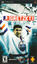 Gretzky NHL PSP Front Cover