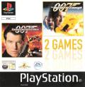 007: Tomorrow Never Dies / 007: The World is Not Enough PlayStation Front Cover