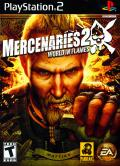 Mercenaries 2: World in Flames PlayStation 2 Front Cover