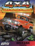 4x4 Off-Road Racing MSX Front Cover