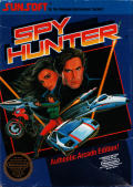 Spy Hunter NES Front Cover