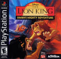 Disney's The Lion King: Simba's Mighty Adventure PlayStation Front Cover